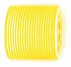 Velcro curlers  Yellow Ø65 mm.