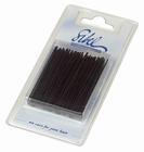 Straight Hairgrips. Colour: Black