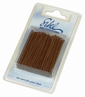 Straight Hairgrips. Colour: Bronze