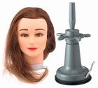 Übungs Kopf  BROWN + Tischfuß mit Vacuum