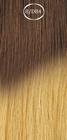 Shatush extensions, long: 50 cm. color 8/DB4