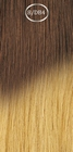 Eurosocap Ombre extensions, long: 50 cm. color 8/DB4