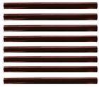Keratine Stick 10 cm. lang Ø 0,75 cm, kleur: Bruin