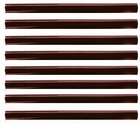 Keratine Stick 10 cm. long,  Ø 0,75 cm, Color: Brown