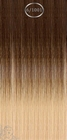 Shatush extensions, long: 50 cm. color 6/1001