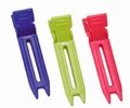 Nylon 2-prong clip assortiment color