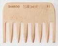 Antistatique Bamboo Comb