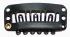 Medium U-shape clip, color: Black