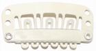 Large U-shape clip, color: Blond