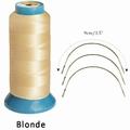 Hair weaving tread, color Blond (2285 mtr)