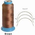 Hair weaving tread, color Dark Brown (2285 mtr)