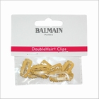Double Hair clips 10 stuk - Beige