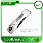 Hairtrimmer L-860 LCD display