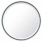 Magic salon Mirror  Ø 22 cm., color: White