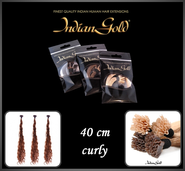 40 cm. curly keratine bonding
