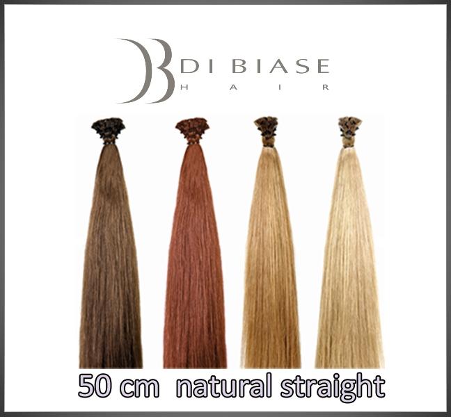 50 cm. natural straight