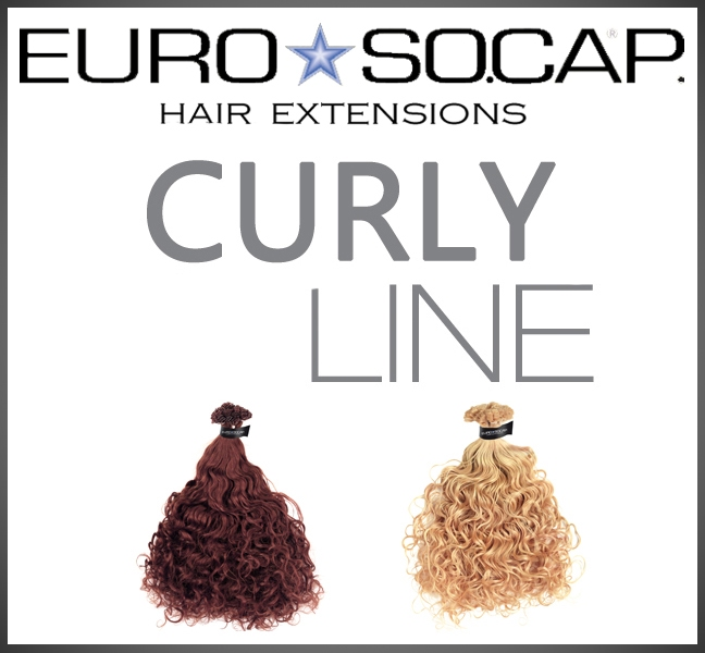50/55 cm natural curly extensions