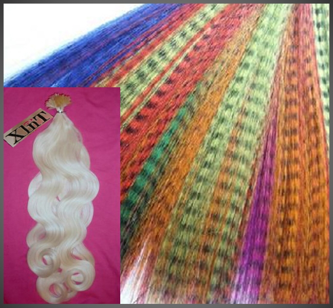 Hairextensions Synthetisch/Thermo fibre/Kanekalon