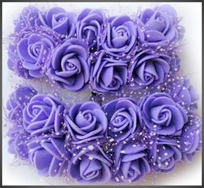 Mini Flowers PE foam