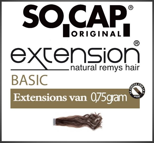 Socap 30/35 cm. natural wavy