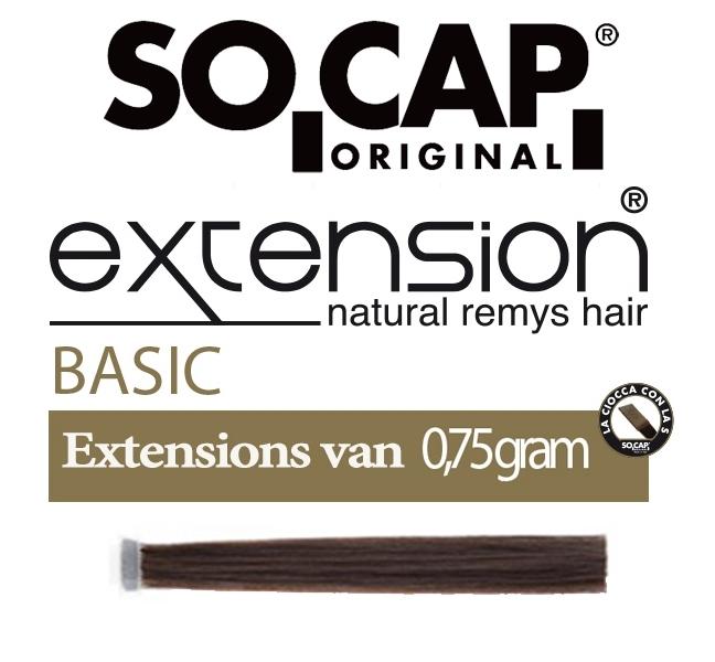 Socap 60/65 cm. natural straight