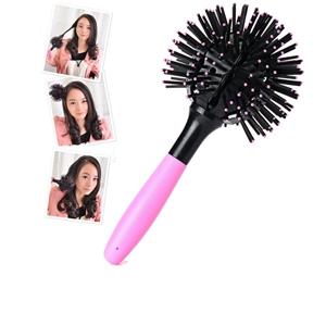 3-D  Round Tangle Free Brush