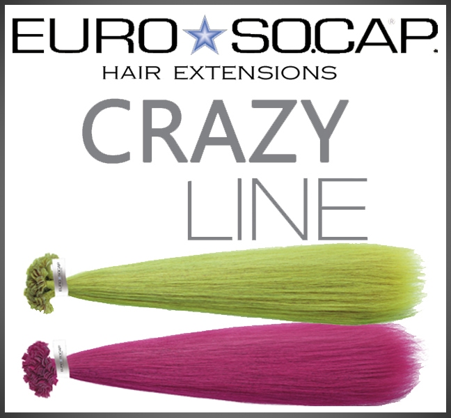 Crazy color human hair extensions