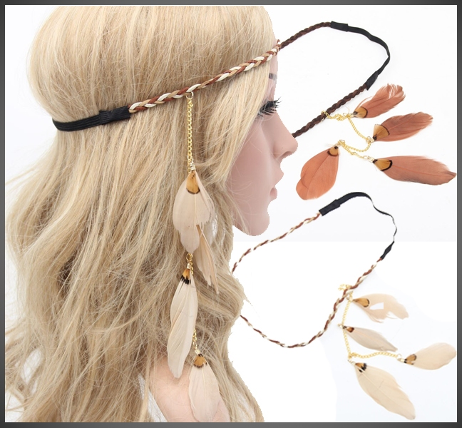 Feather Haarband