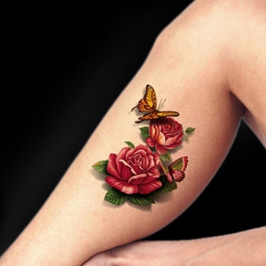 Flower Flash Tattoo
