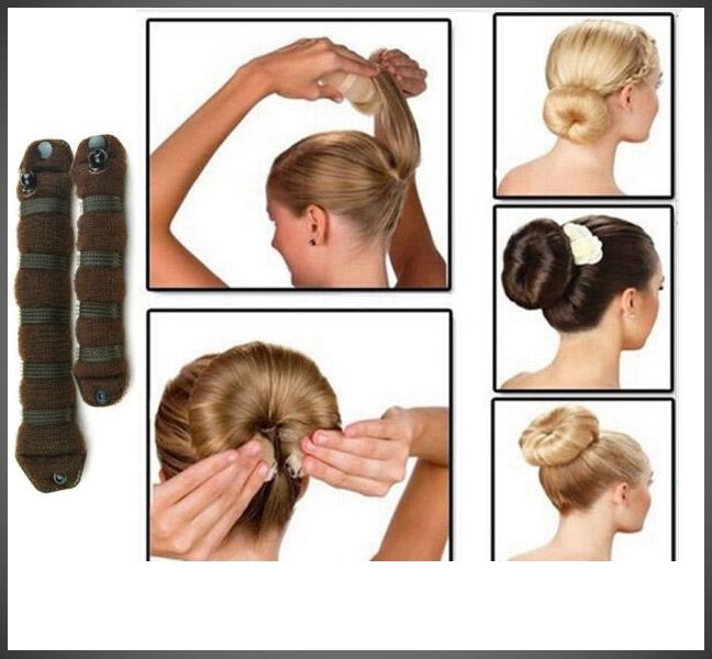 Hair Bun Roll