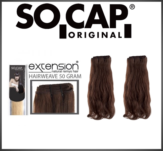 Hairweave 30 cm wavy - 50 gram