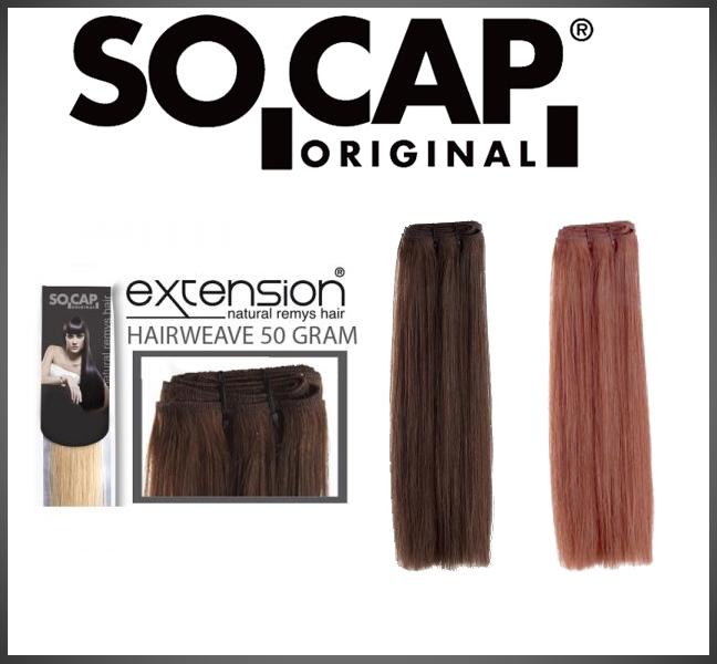 Hairweave 50 cm straight - 50 gram