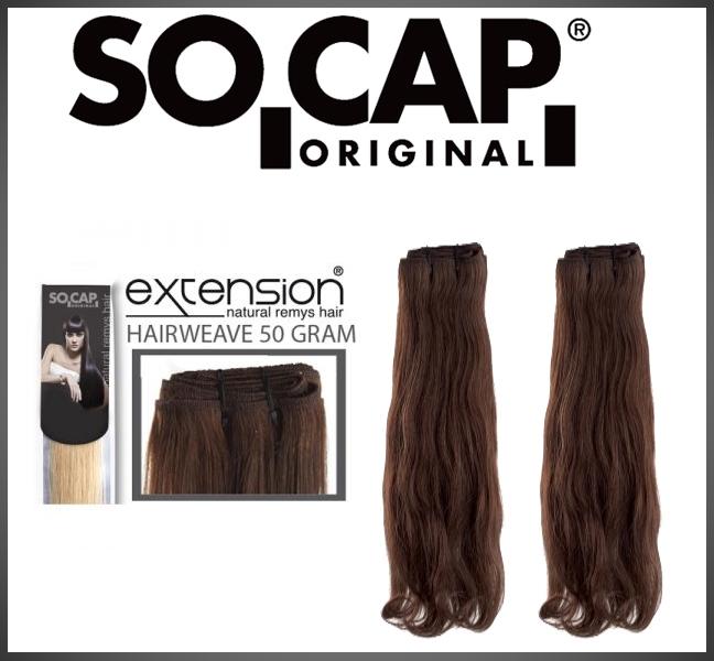 Hairweave 50 cm wavy - 50 gram