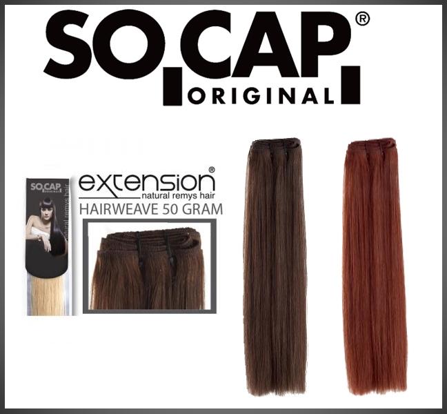 Hairweave 60 cm straight - 50 gram