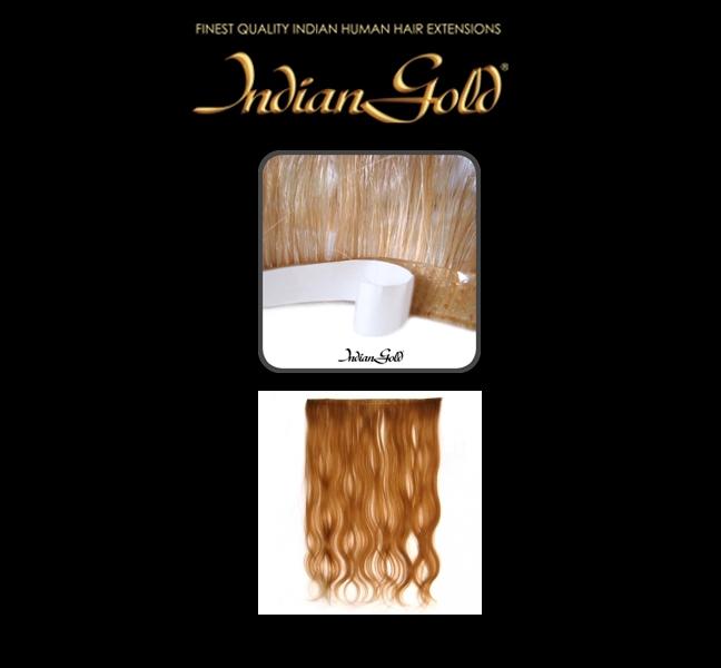 Indian Gold skin weft
