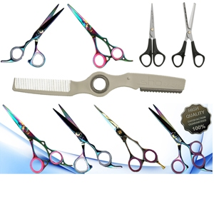 Scissors and razors