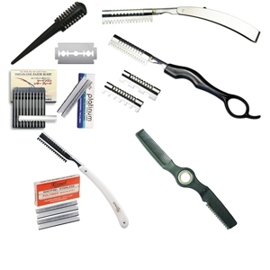 Scissors and cutting blades