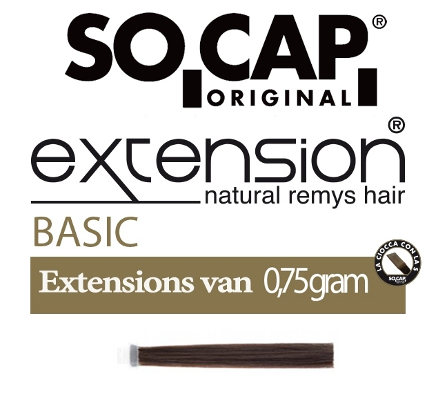 Socap 40/45 cm. natural straight