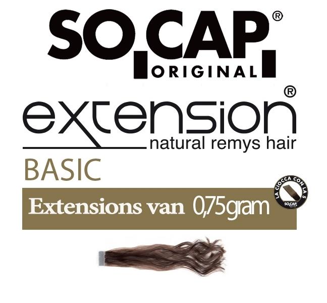 Socap 40/45 cm. natural wavy