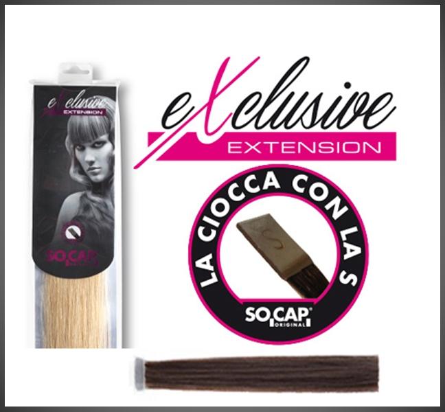 Socap 50/55 cm. Exclusive natural straight