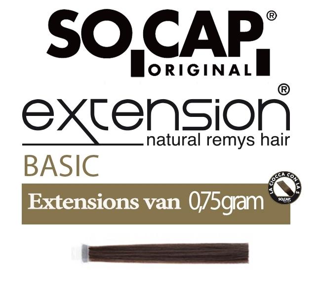 Socap 50/55 cm. natural straight