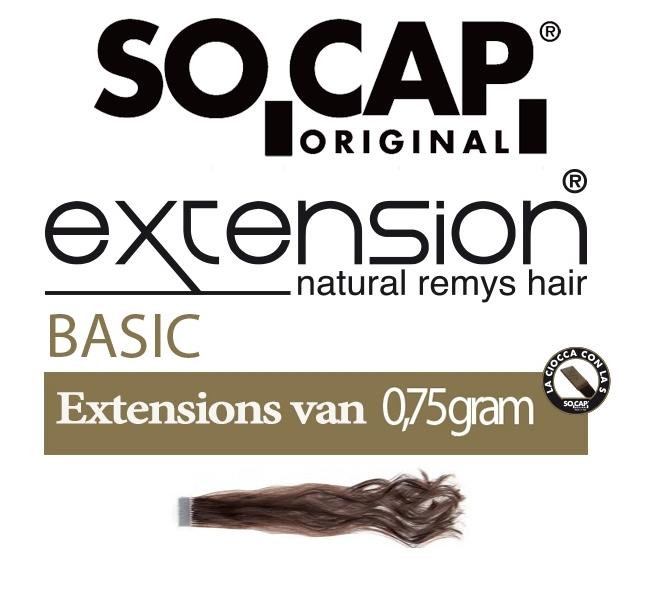 Socap 50/55 cm. natural weavy