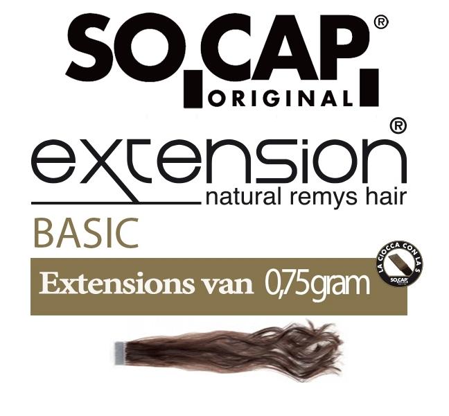 Socap 60/65 cm. natural weavy