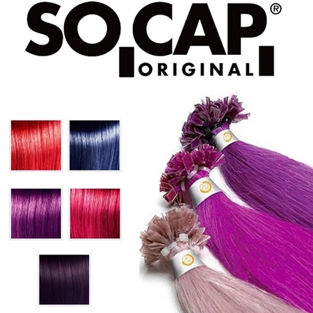 Socap Crazy color human hair extensions